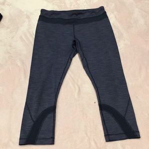 Lululemon crop leggings size 8